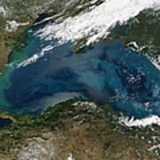 The Black Sea In Eastern Russia Art Print by Stocktrek Images
