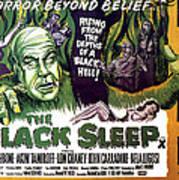 The Black Sleep, Close-up On Left Tor Art Print