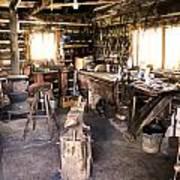 The Blacksmith Shop Art Print