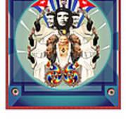 The Blessing IIi Los Comandantes Art Print