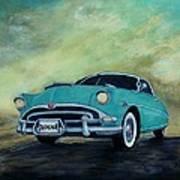 The Blue Hornet Art Print
