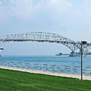 The Blue Water Bridge  Art Print