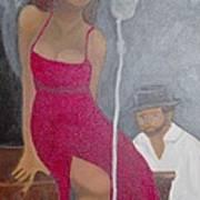 The Blues Singer Art Print