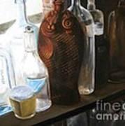 The Bottles  Art Print