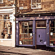 The Bow Bar. Edinburgh. Scotland Art Print