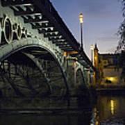 The Bridge Of Triana, Puente De Triana Art Print