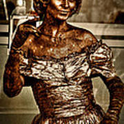 The Bronze Lady In Pike Place Market Art Print