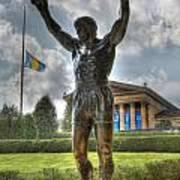 The Bronze Stallion - Rocky Balboa - Philadelphia - Pennsylvania - Rocky Steps Art Print by Lee Dos Santos