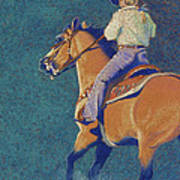 The Buckskin Art Print