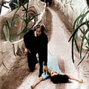 The Cabinet Of Dr. Caligari, From Left Art Print by Everett