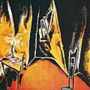 The Cabinet Of Dr Caligari Art Print