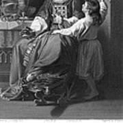 The Calling Of Samuel Art Print