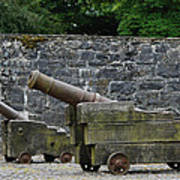 The Cannons Of Bunratty Castle Art Print