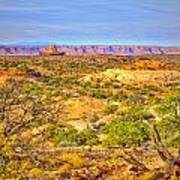 The Canyon In The Distance Art Print