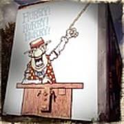The Cartoon Carney Art Print