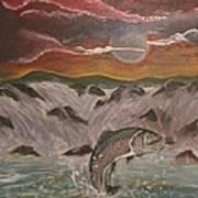 The Catch Art Print by Shadrach Ensor