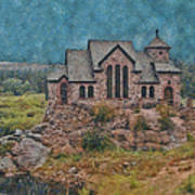 The Chapel Art Print by Ernie Echols