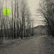 The Circle Green - Bare Walkin Trail Art Print