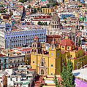 The City Of Guanajuato Art Print