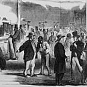 The Civil War. New Yorkers In The Assay Art Print
