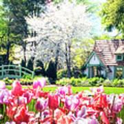 The Claude Monet Small House Art Print