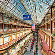 The Cleveland Arcade I Art Print by Clarence Holmes