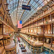 The Cleveland Arcade Iv Art Print