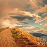 The Cloud Path Art Print