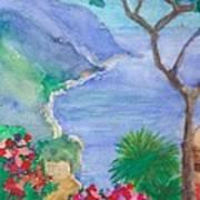 The Coast Of Italy Art Print