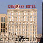 The Congress Hotel - 1 Art Print
