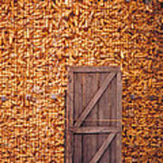 The Corn Crib Art Print