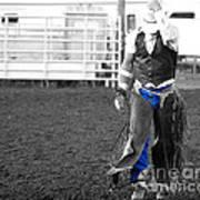 The Cowboy II Art Print