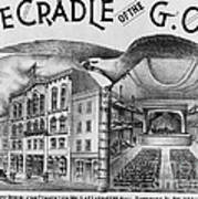 The Cradle Of The Gop Art Print
