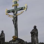 The Crucifix And Calvary - Prague Art Print