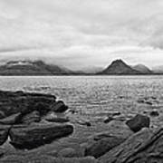 The Cuillin's In The Mist Art Print