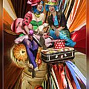The Cupcake Carnival Girls Art Print