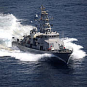 The Cyclone-class Coastal Patrol Ship Art Print
