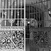The Dakota Gates In Black And White Art Print