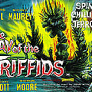 The Day Of The Triffids, British Poster Art Print