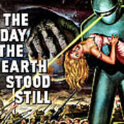 The Day The Earth Stood Still, 1951 Art Print by Everett