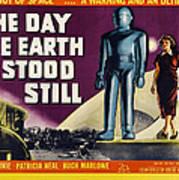 The Day The Earth Stood Still, Lock Art Print by Everett