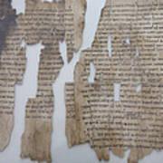 The Dead Sea Scrolls Art Print by Taylor S. Kennedy