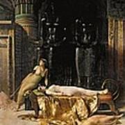The Death Of Cleopatra  Art Print