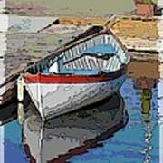 The Dinghy Art Print