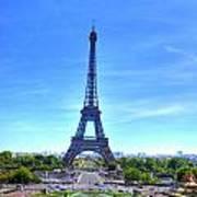 The Eiffel Tower Art Print by Barry R Jones Jr