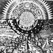 The Emerald Tablet, 1618 Art Print