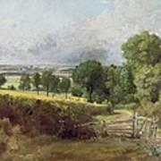 The Entrance To Fen Lane By Constable John Print by John Constable
