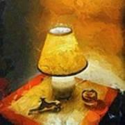 The Evening Lamp Art Print