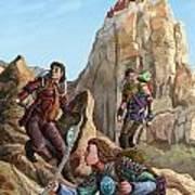 The Explorers Color Art Print