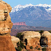 The Face Of Arches Art Print
